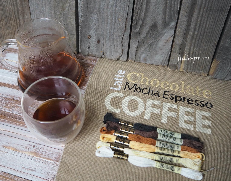Isabelle Vautier, What Else, кофейный семплер, кофе, вышивка крестом, примитив