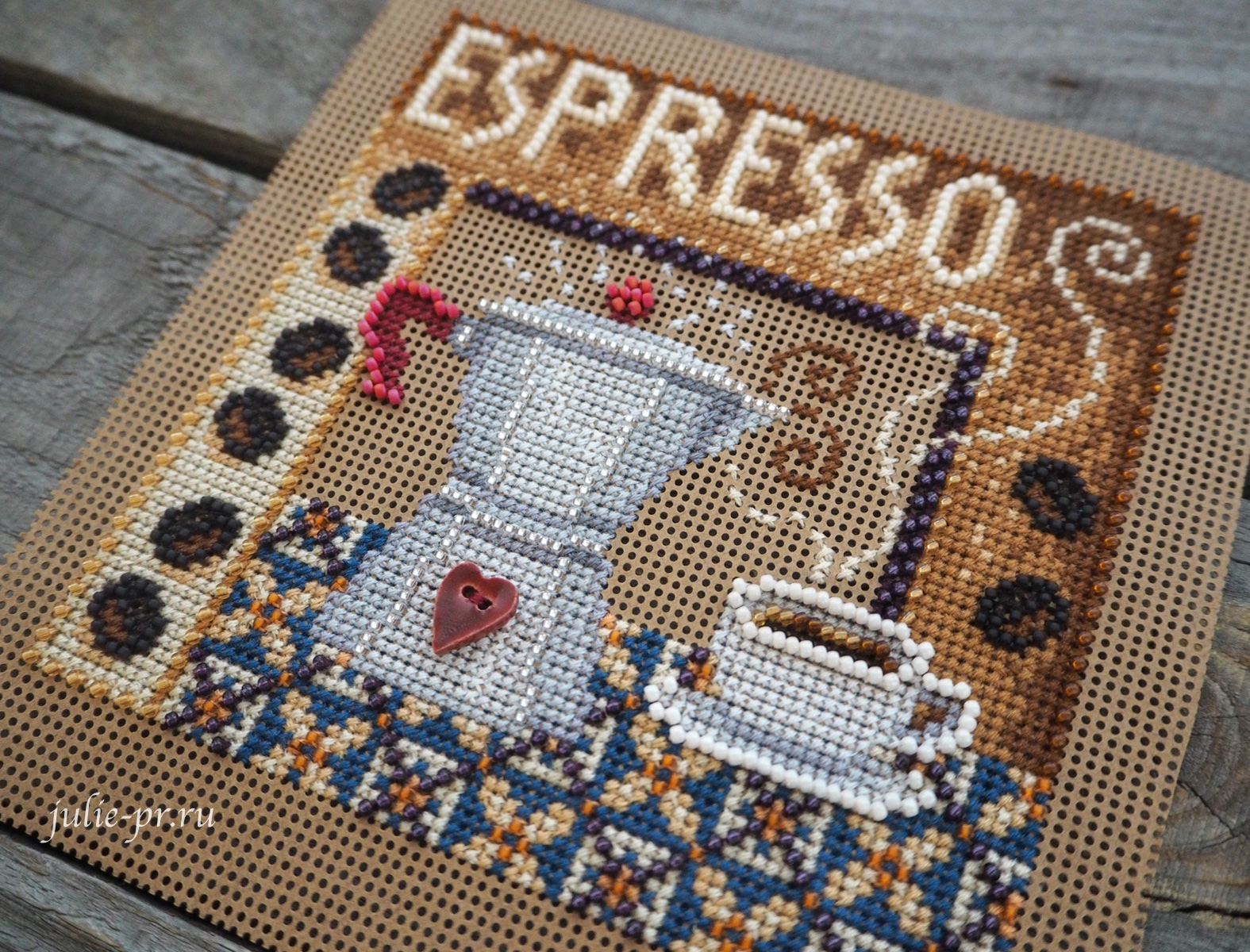 Mill Hill, вышивка крестом, вышивка бисером, coffee, кофе, кофейник, эспрессо, espresso, MH14-2024
