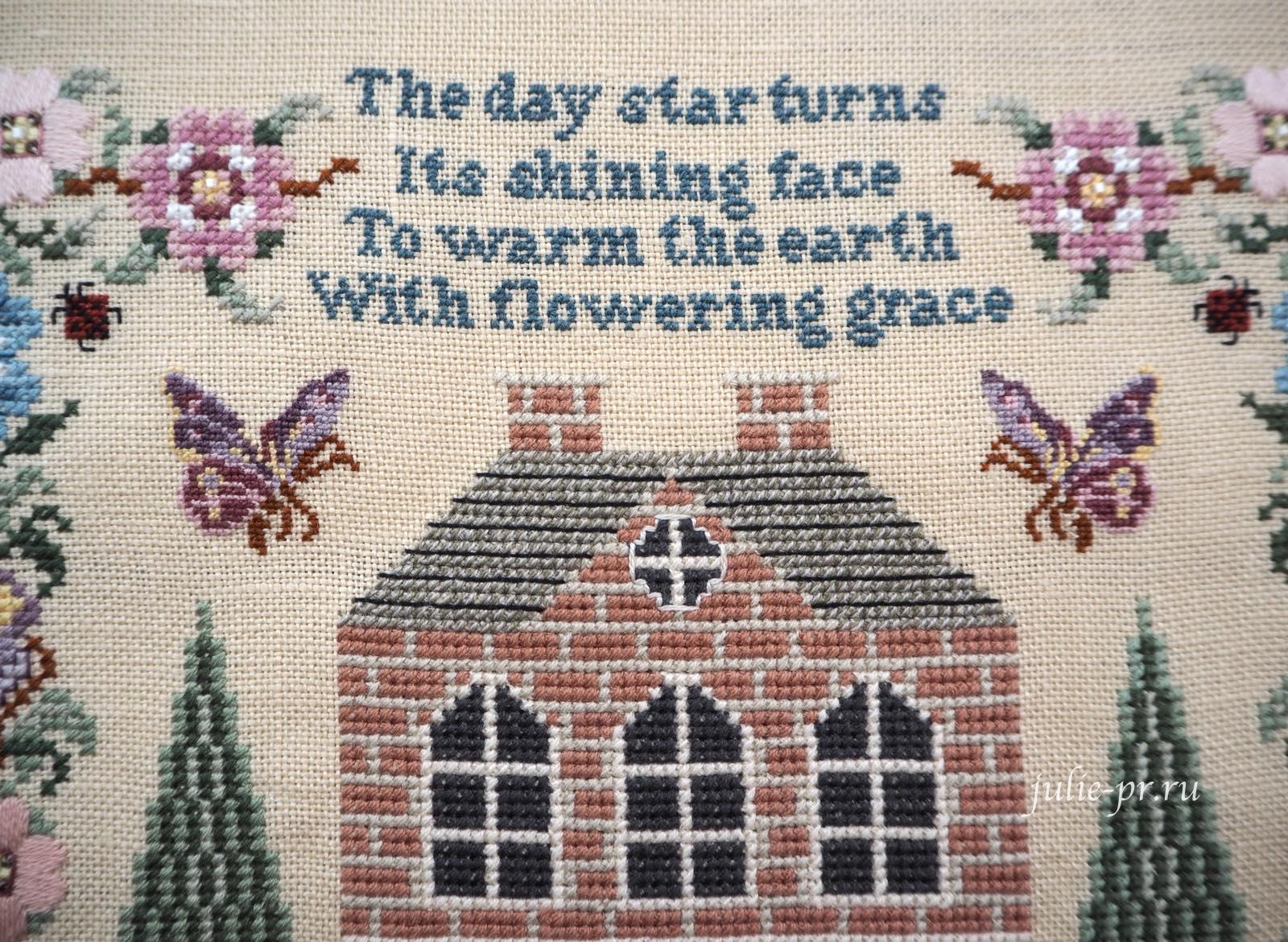 вышивка крестом, Silkwood Manor, Just Nan, дом, поместье, вышивка бисером, вышивка шовчиками