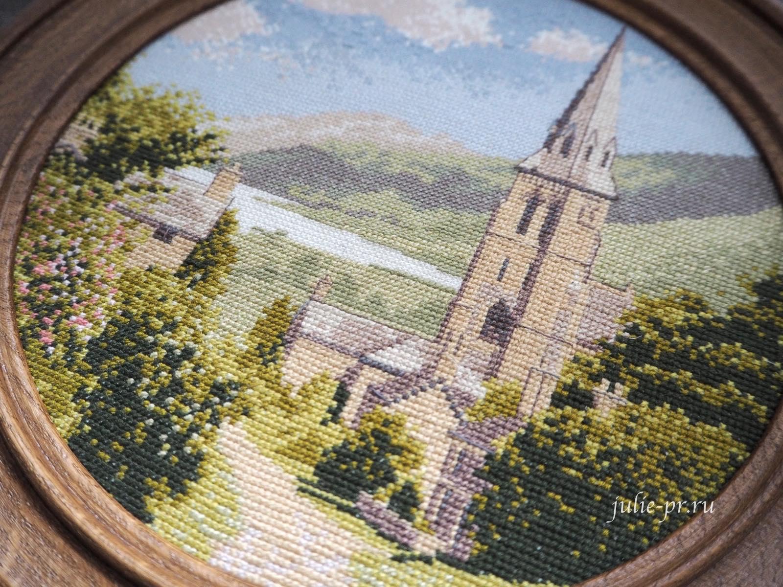 вышивка крестом, круг Джона Клейтона, John Clayton, Lakeside Village, Heritage