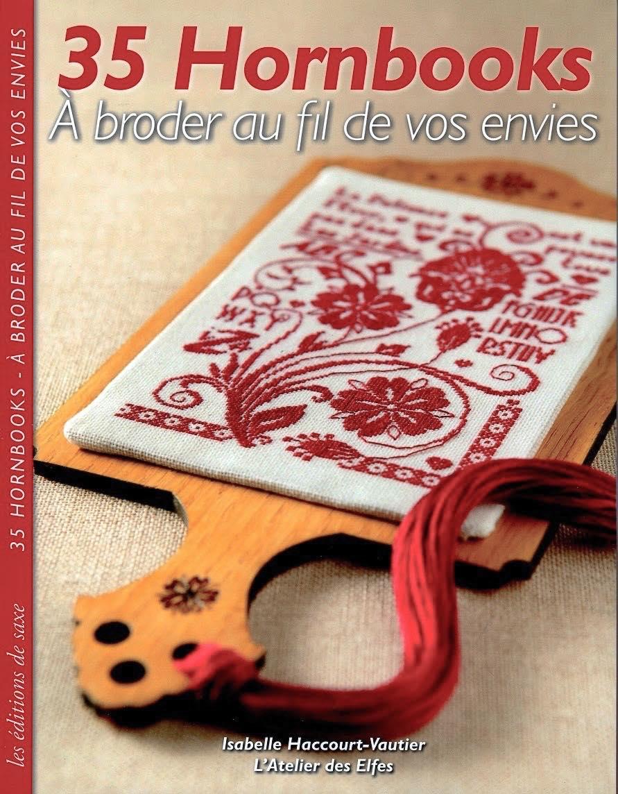Isabelle Haccourt-Vautier, 35 Hornbooks: A broder au fil de vos envies, хорнбук, вышивка крестом