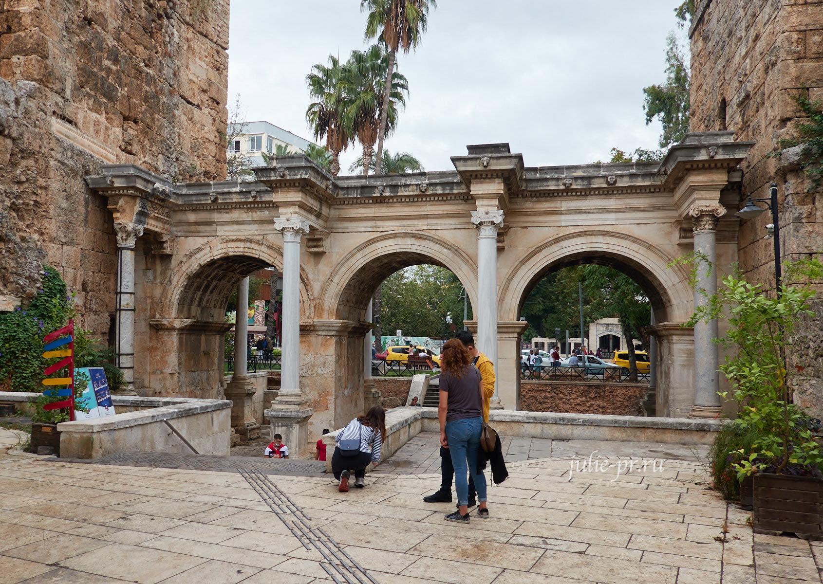 Турция, Анталья, Ворота Адриана