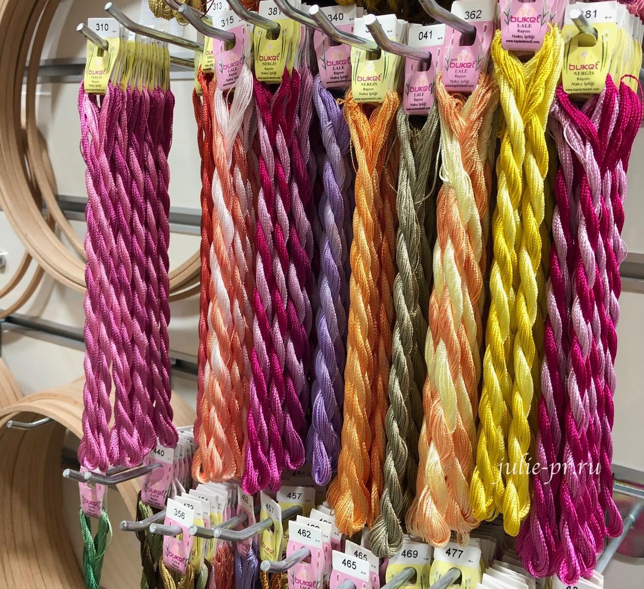 Шелк, Стамбул, вышивка, рукодельный магазин, Hira teks, hobby & dantel, Eminonu