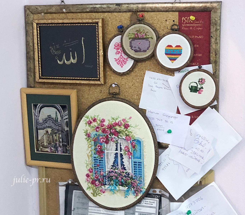 рукодельные магазины в Стамбуле, вышивка крестом, goblen com