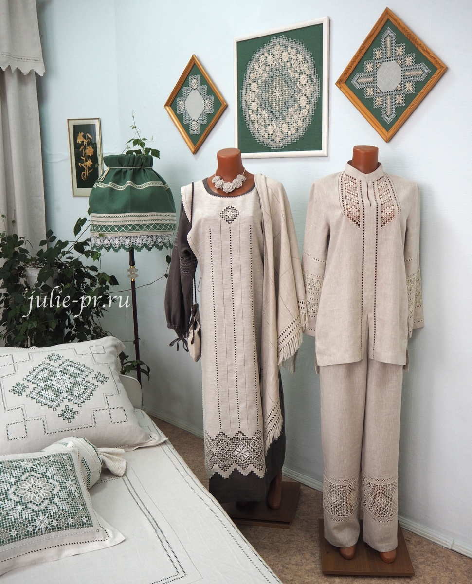 Чкаловск, Горьковский гипюр, Нижегородский гипюр, вышивка, льняная одежда с вышивкой