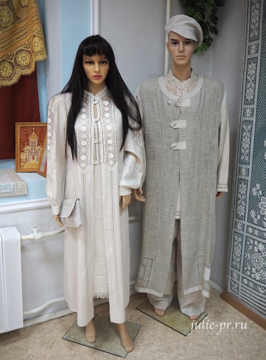 Чкаловск, Горьковский гипюр, Нижегородский гипюр, вышивка, одежда с вышивкой