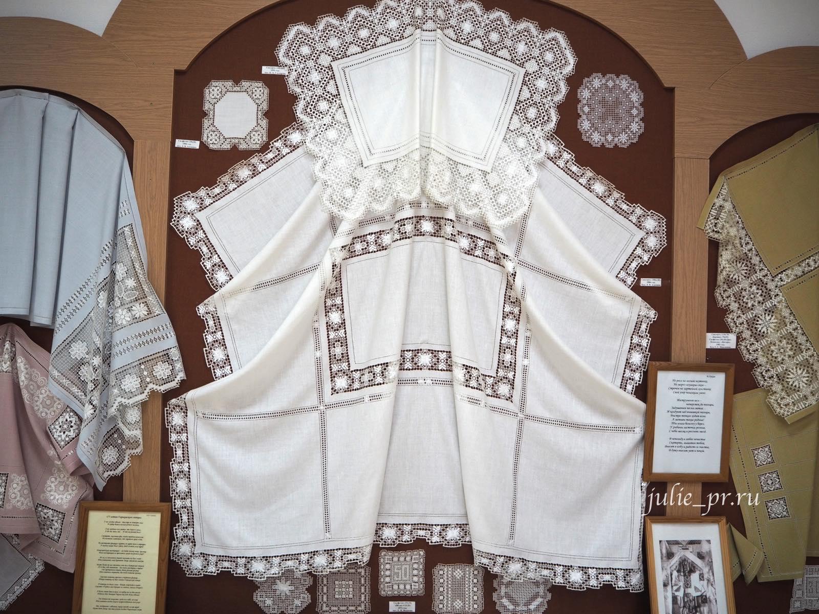 Чкаловск, Горьковский гипюр, Нижегородский гипюр, вышивка
