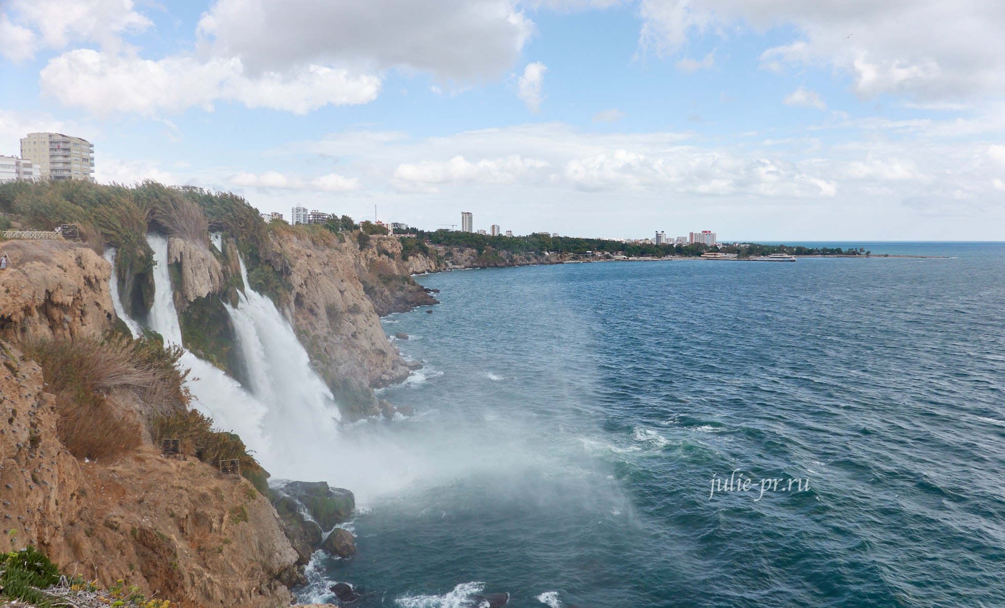 Турция, Анталья, Нижний Дюденский водопад