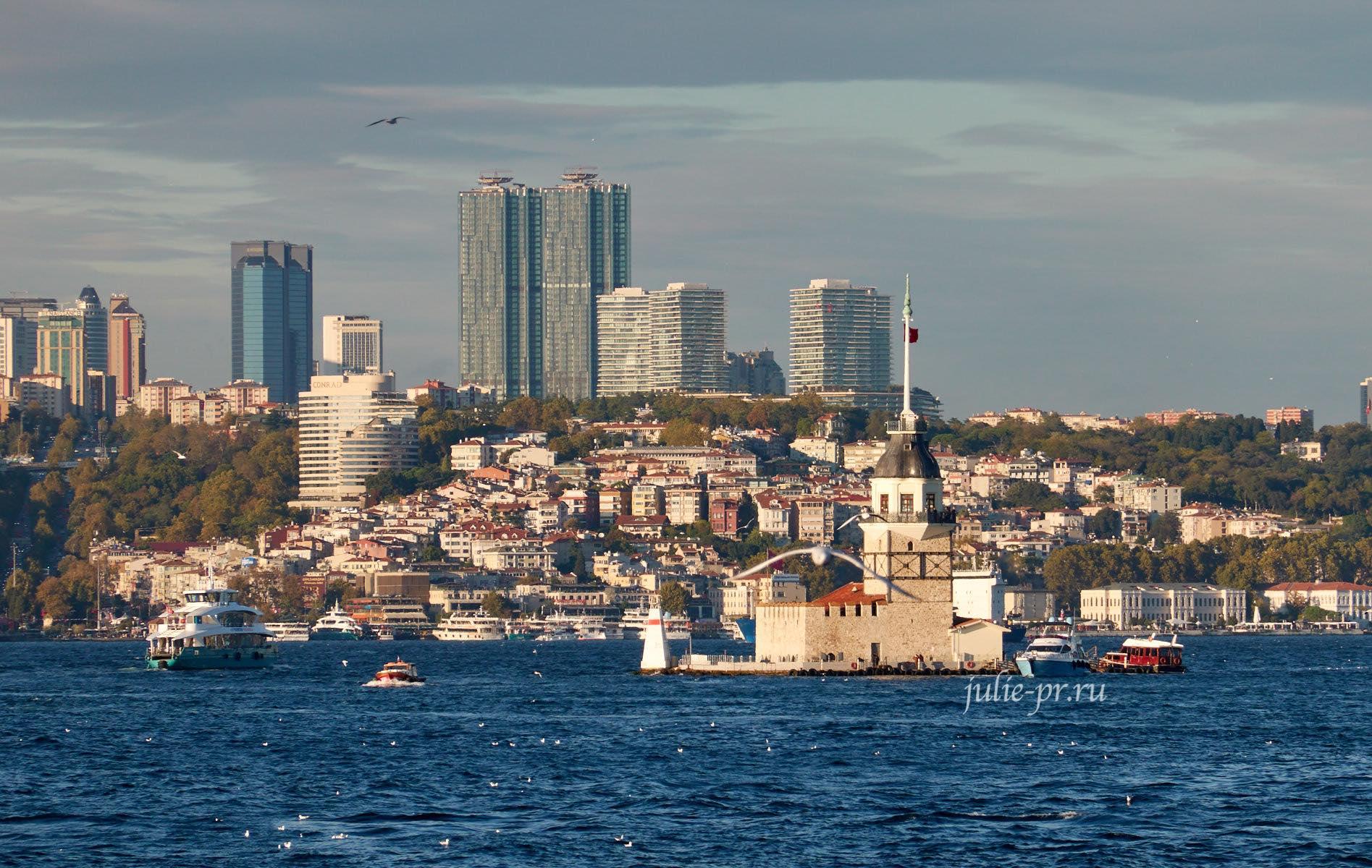 Турция, Стамбул, Девичья башня