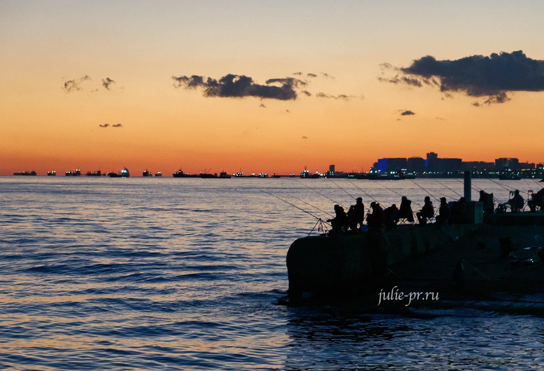Турция, Стамбул, Рыбаки