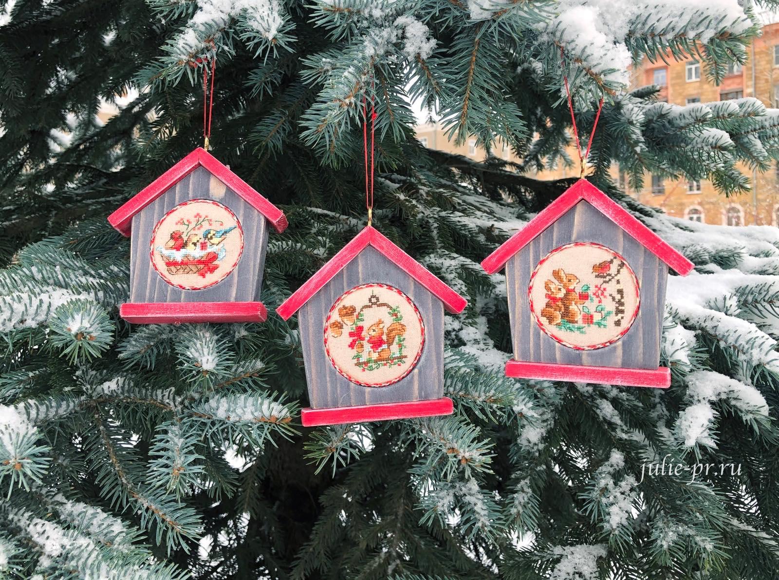 вышивка крестом, вышитые елочные игрушки, парижские вышивальщицы, les brodeuses parisiennes, Veronique Enginger, схемы для вышивки, Le grand ABC de Noel, Большой рождественский алфавит, новогодняя игрушка