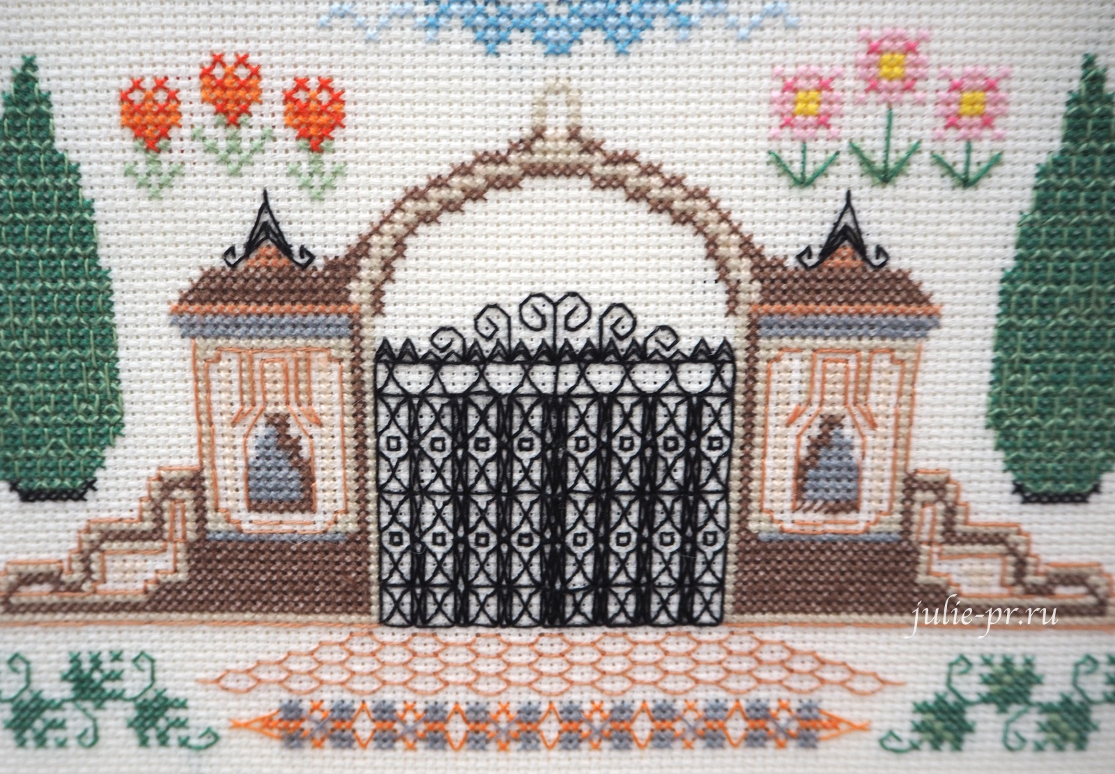 Риолис, Мой дом, вышивка крестом, блэкворк, формула рукоделия зима 2020