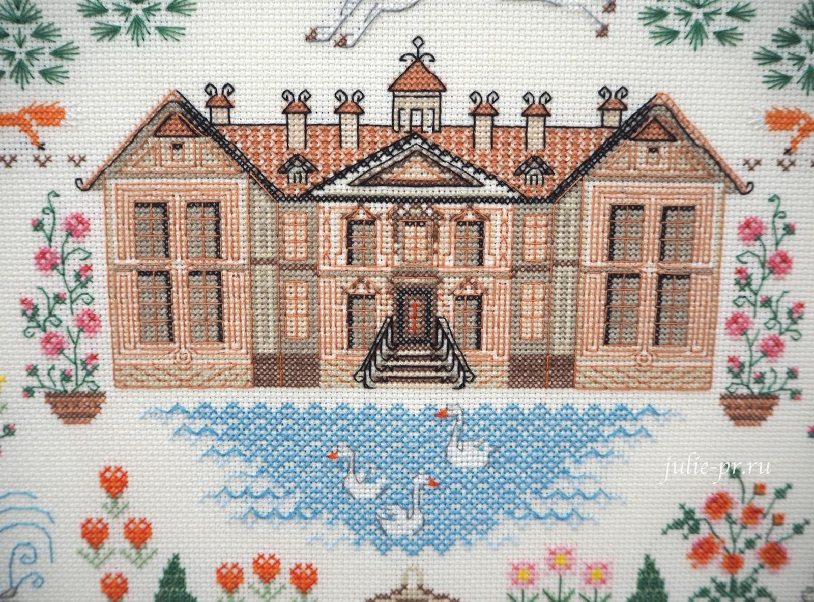 Риолис, Мой дом, вышивка крестом, формула рукоделия зима 2020