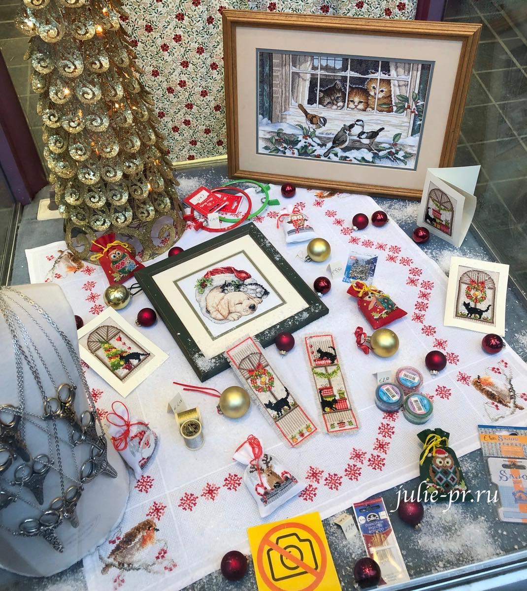 Dimensions, вышивка крестом, Брюгге, Бельгия, рукодельный магазин t Handwerkhuisje