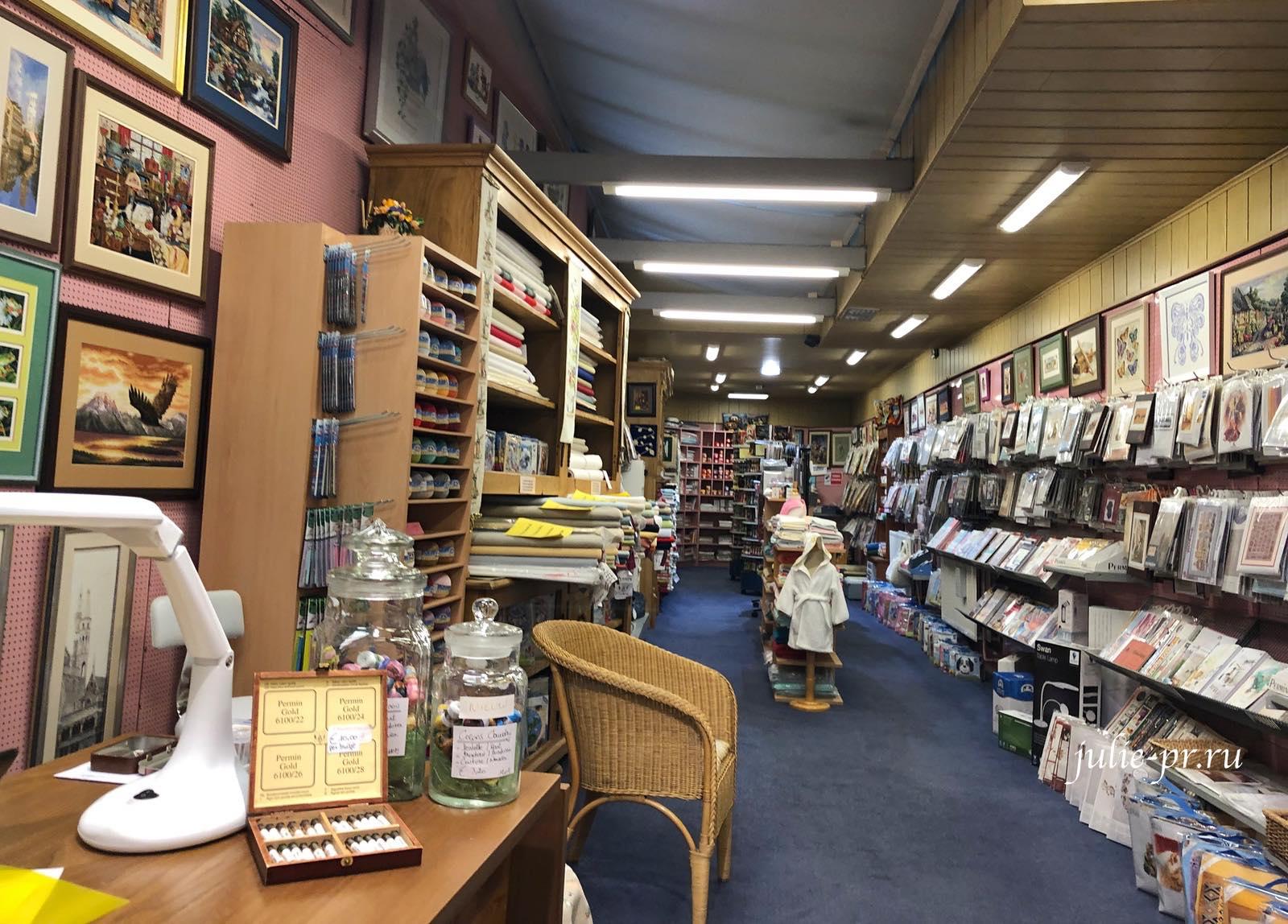 вышивка крестом, Брюгге, Бельгия, рукодельный магазин t Handwerkhuisje