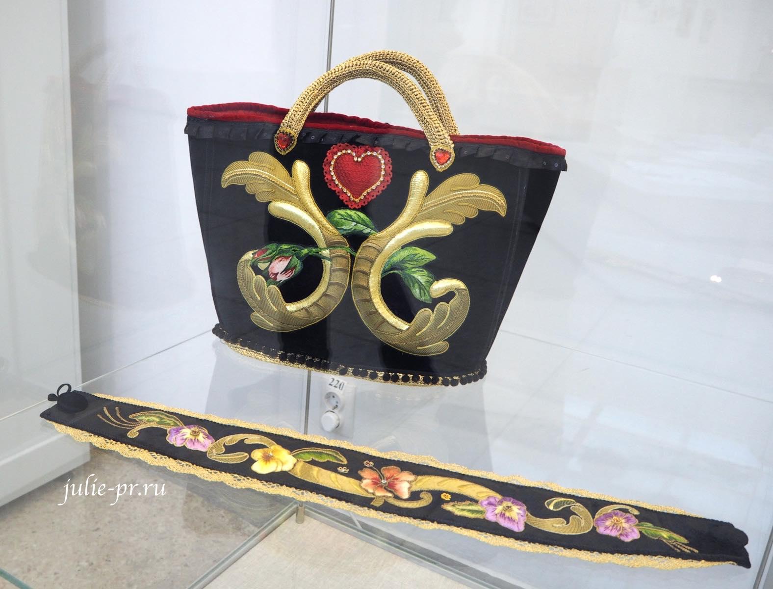 Всероссийская выставка вышивки, вышивка, сумка, пояс, золотное шитье, прикладная вышивка