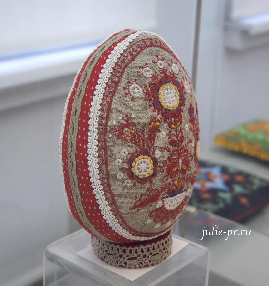Всероссийская выставка вышивки, вышивка, Пасхальное яйцо