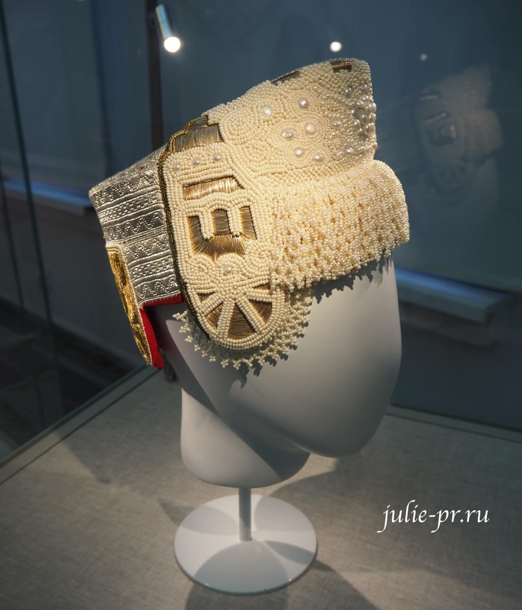 Всероссийская выставка вышивки, вышивка, Кокошник