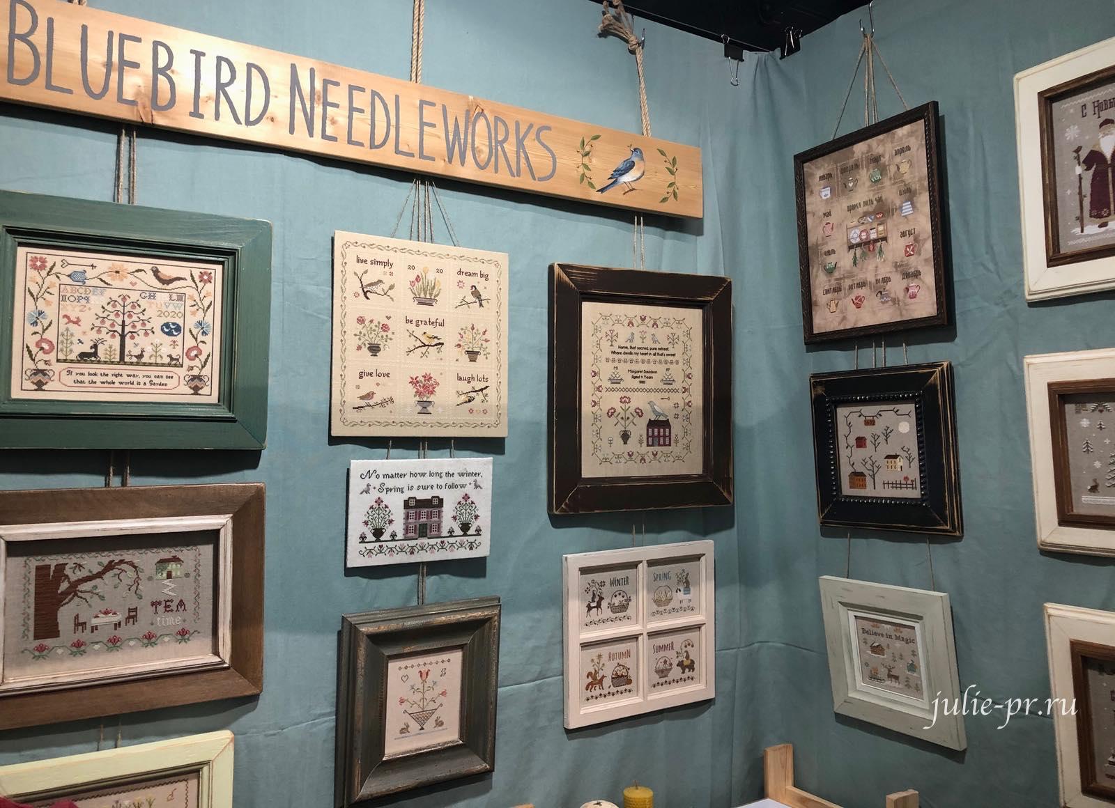 Bluebird Needleworks, примитивы, вышивка крестом, выставка вышивки, Формула рукоделия весна 2021
