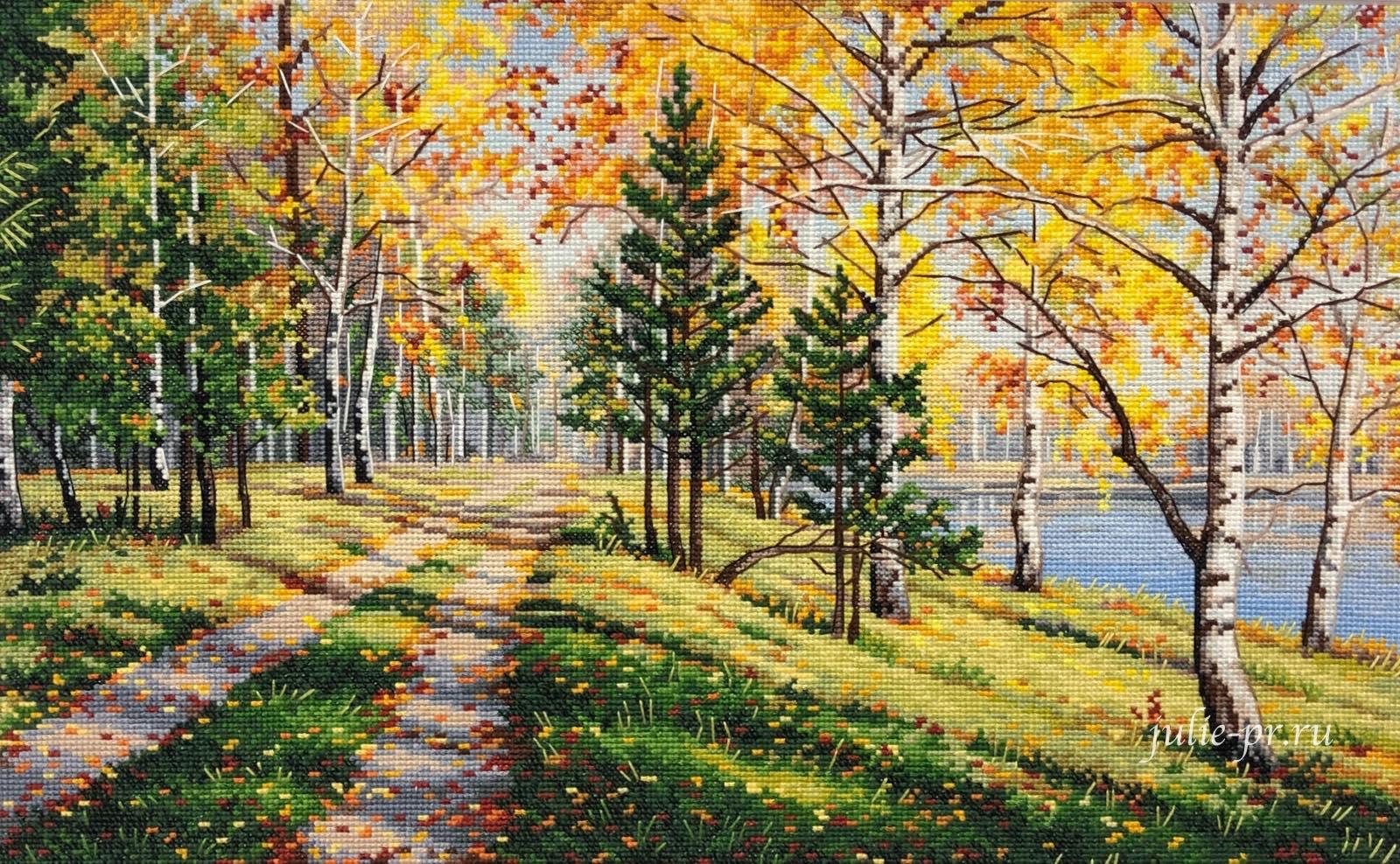 вышивка крестом, Овен, Осенняя пора, осень, выставка вышивки, Формула рукоделия весна 2021