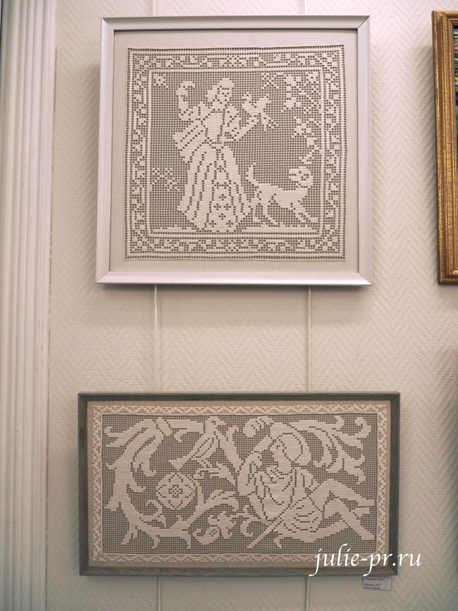 Белая строчка, вышивка, выставка, Иголочка тонка, да достаёт до сердца, Санкт-Петербург,