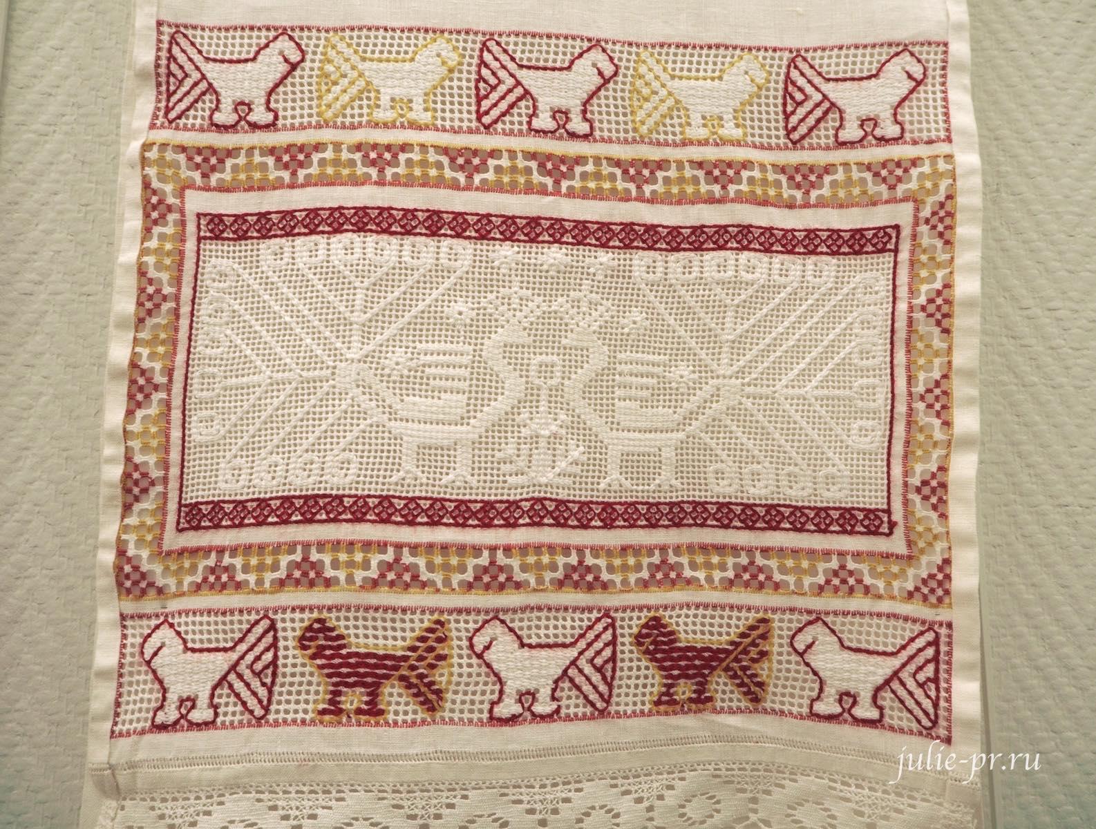 Надежда Баринова, вышитое полотенце, выставка, Иголочка тонка, да достаёт до сердца, Санкт-Петербург,