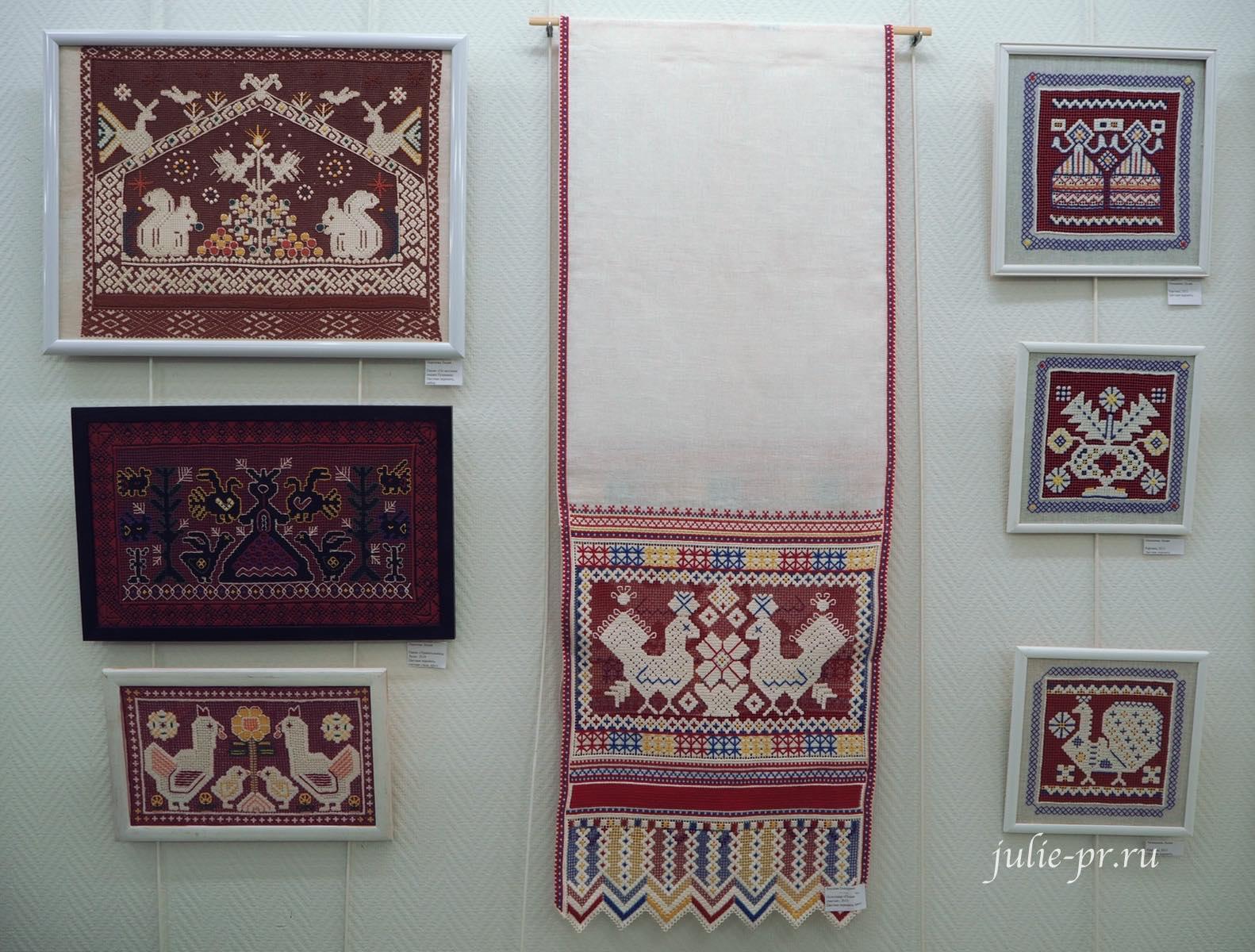 Цветная перевить, вышивка, выставка, Иголочка тонка, да достаёт до сердца, Санкт-Петербг