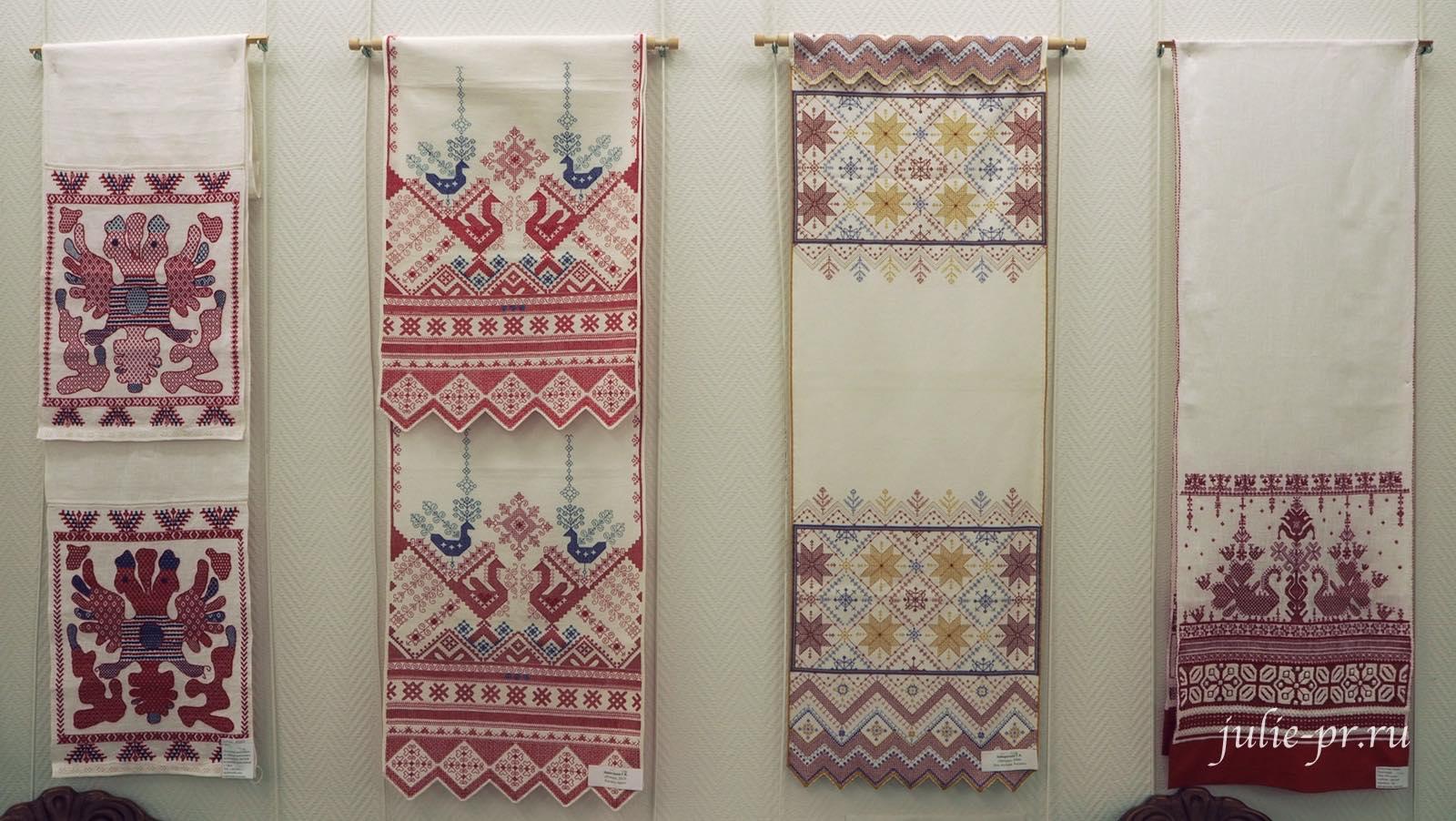Вышитые полотенца, вышивка, выставка, Иголочка тонка, да достаёт до сердца, Санкт-Петербург