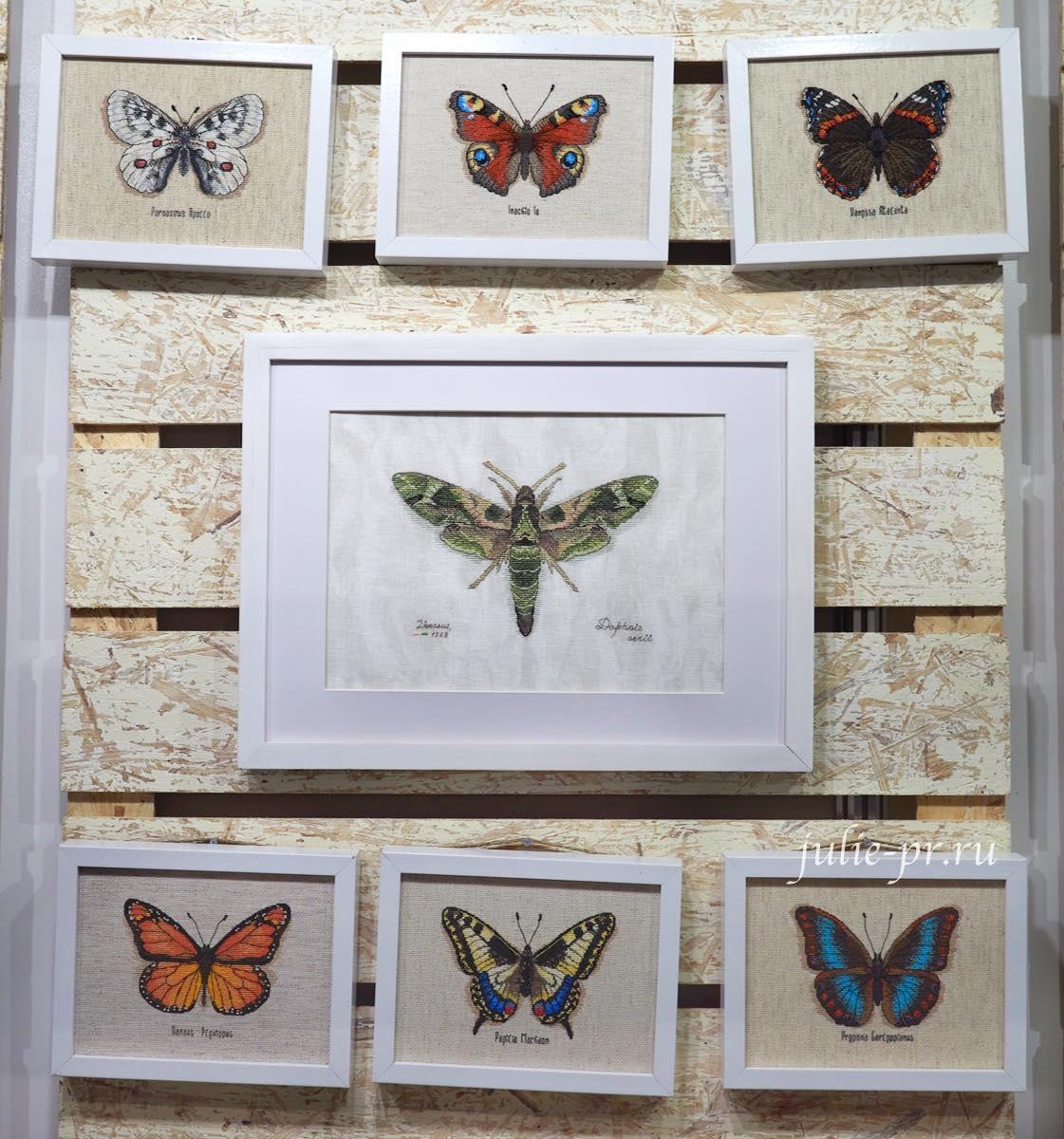 вышивка крестом, Рукодельные забавы, Бабочки, выставка вышивки, Формула рукоделия весна 2021