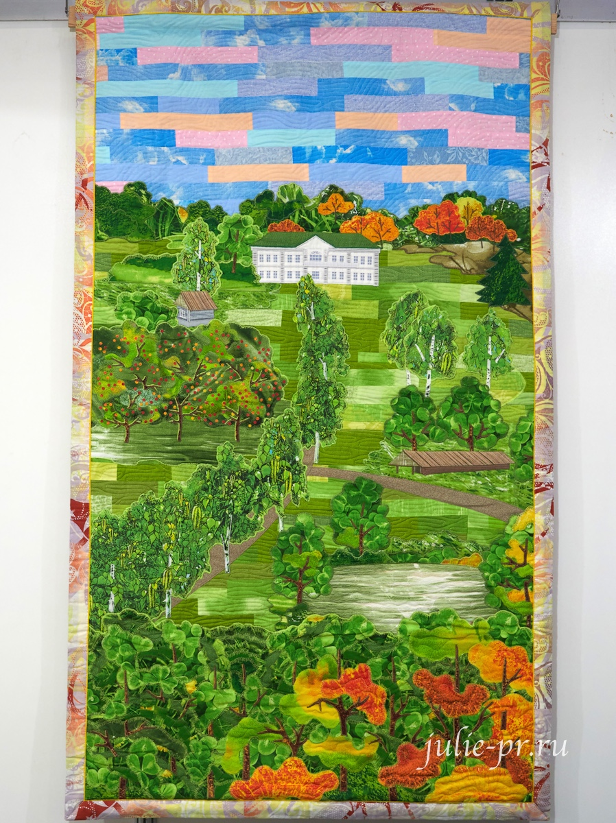 Ясная поляна, квилт, лоскутное шитье, выставка вышивки, Формула рукоделия весна 2021
