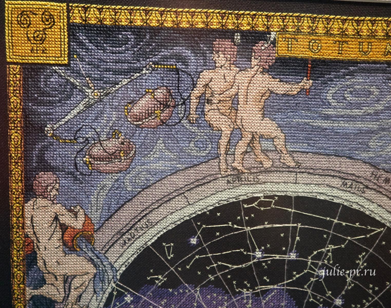Панна, Карта звездного неба, вышивка крестом, выставка вышивки, Формула рукоделия весна 2021