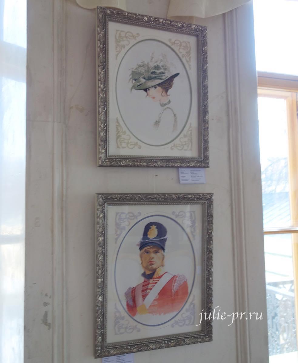 Шарлотта, Томас, Thomas, Charlotte, вышивка крестом, Heritage, John Clayton, выставка Грани Джона Клейтона