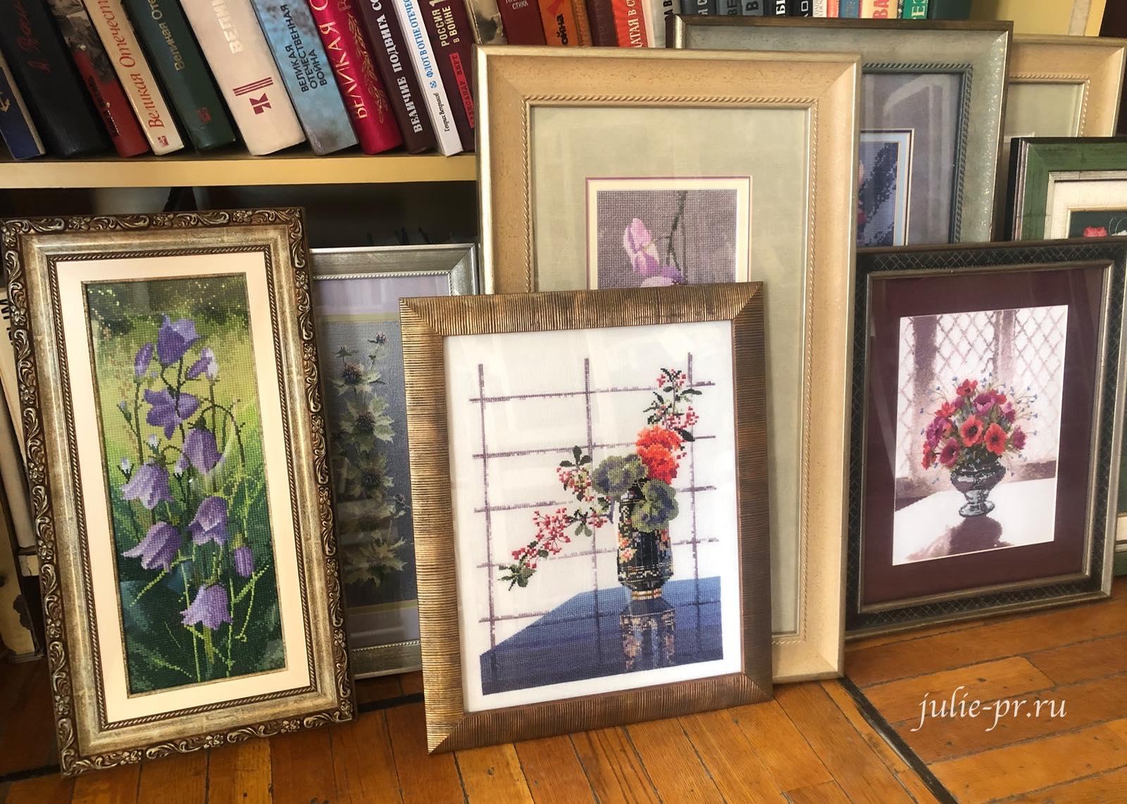 цветы, вышивка крестом, Heritage, John Clayton, выставка Грани Джона Клейтона