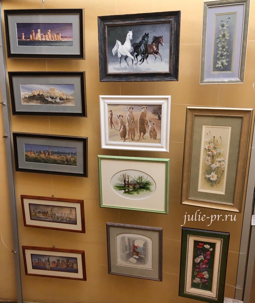 вышивка крестом, Heritage, John Clayton, выставка Грани Джона Клейтона