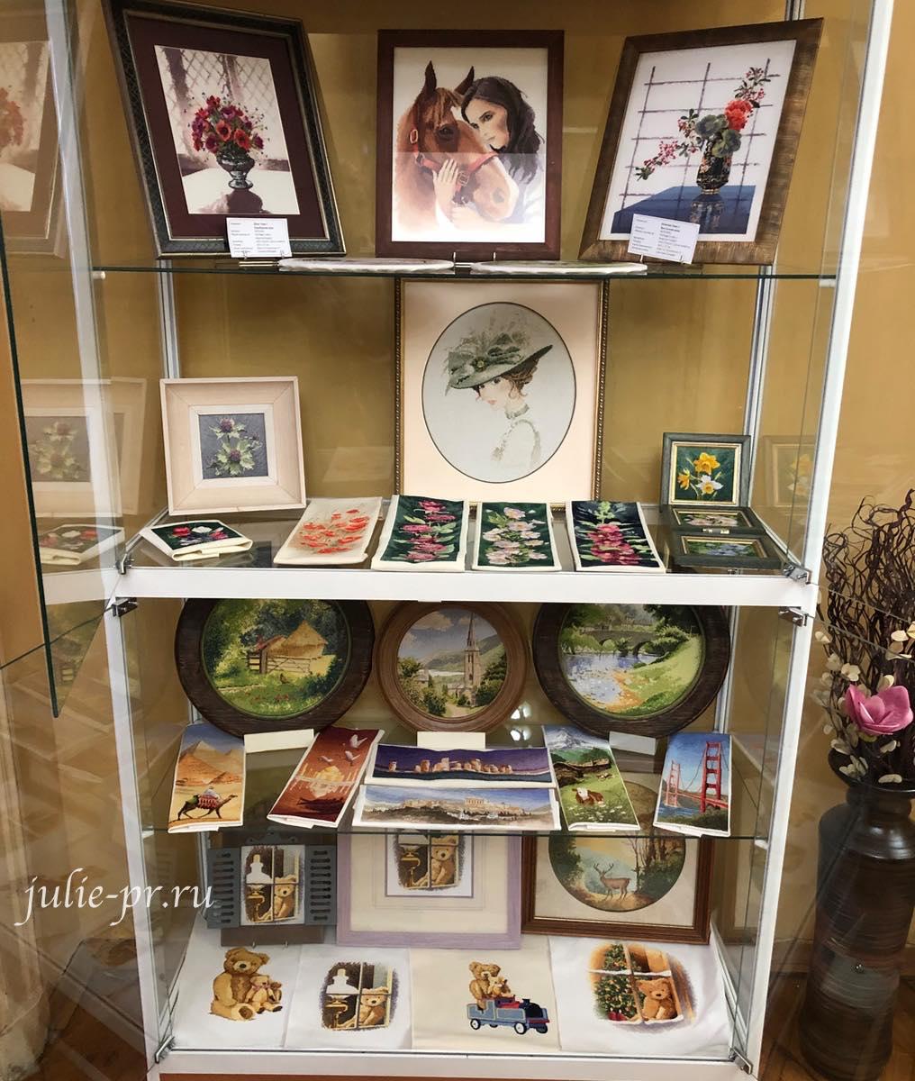 круги Клейтона, панорама, мишки тедди, вышивка крестом, Heritage, John Clayton, выставка Грани Джона Клейтона