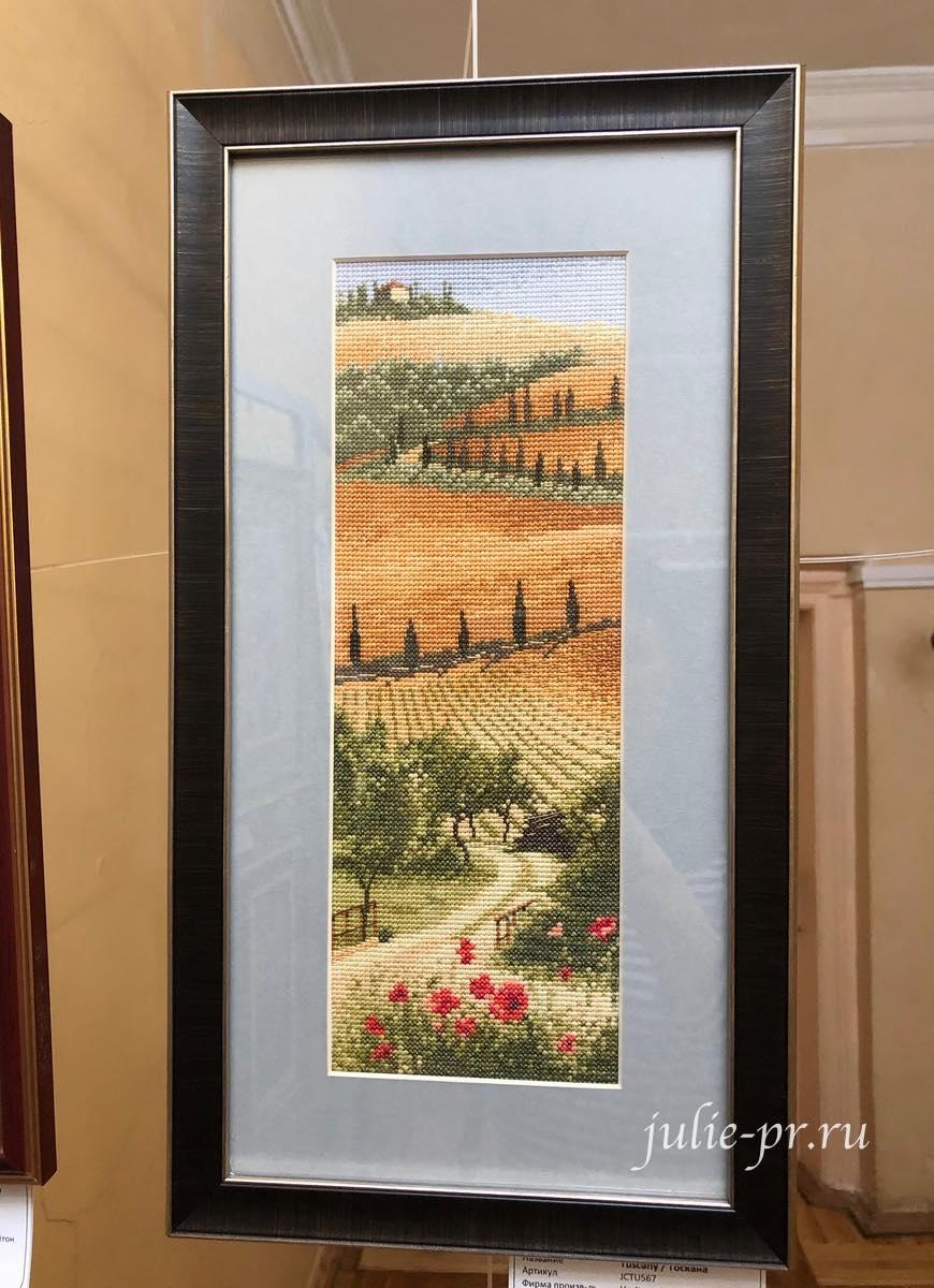 Tuscany, Тоскана, вышивка крестом, Heritage, John Clayton, выставка Грани Джона Клейтона