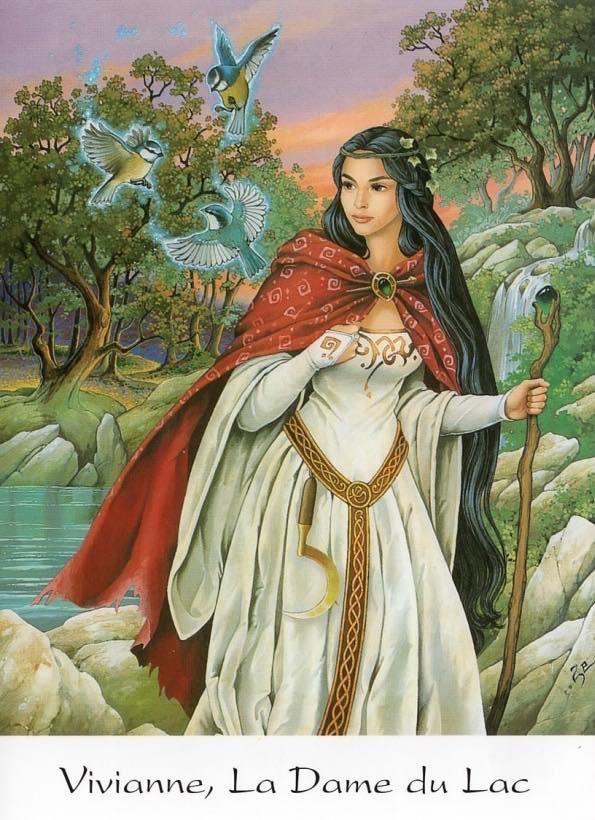 Zephir D'elph, Vivianne la dame du lac