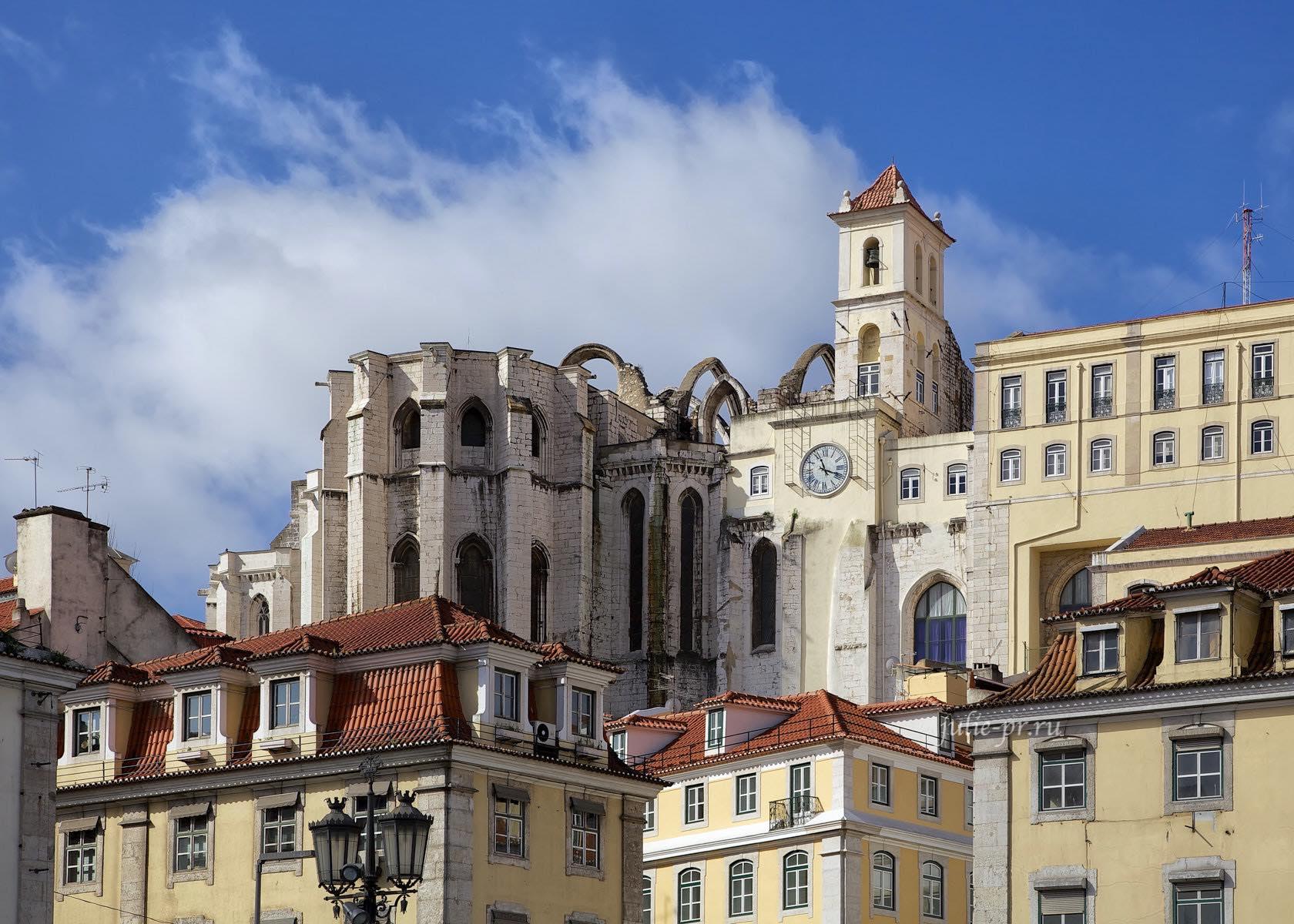 Португалия, Лиссабон, Монастырь кармелиток
