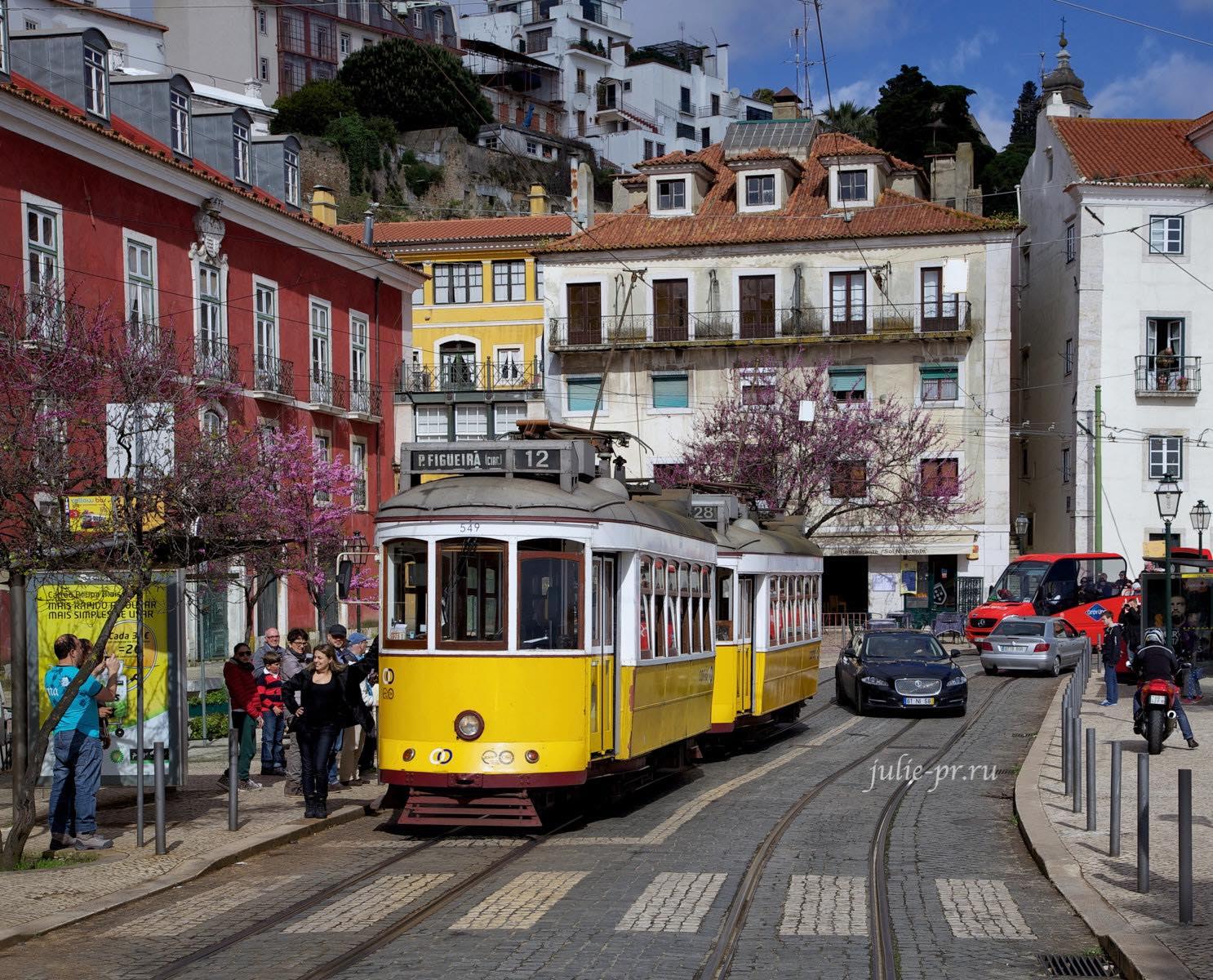 Португалия, Лиссабон, трамвай