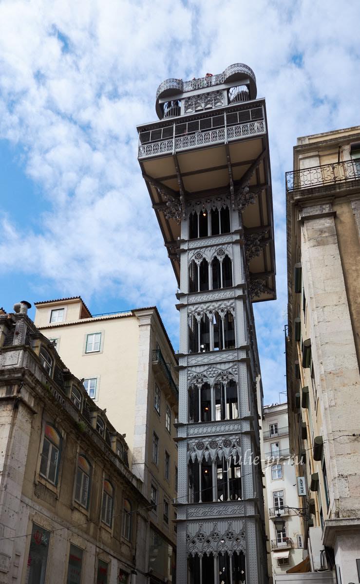 Португалия, Лиссабон, Подъёмник Санта-Жушта