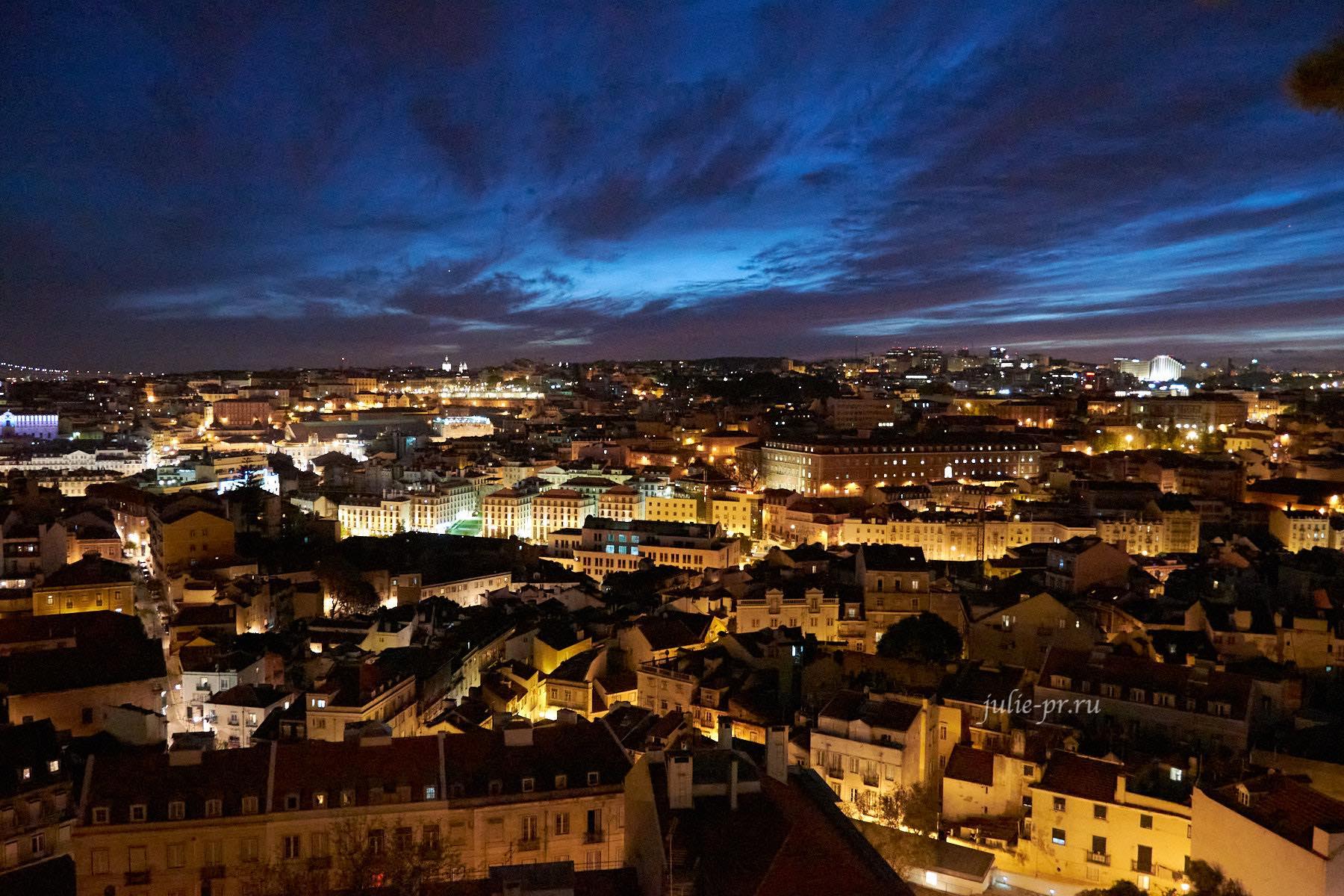 Португалия, Лиссабон, ночь
