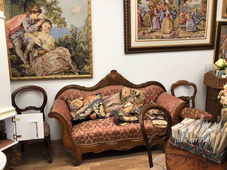 Рукодельный магазин Ricamo & Cucito, Флоренция, Италия, вышивка крестом