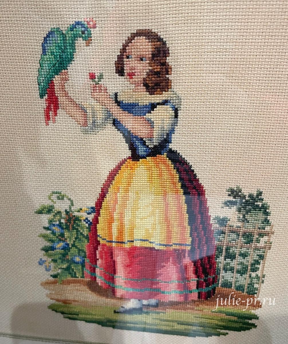 Выставка Кукловодство, вышивка крестом, берлинская вышивка