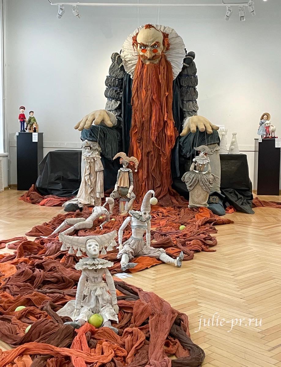 Выставка Кукловодство, карабас барабас