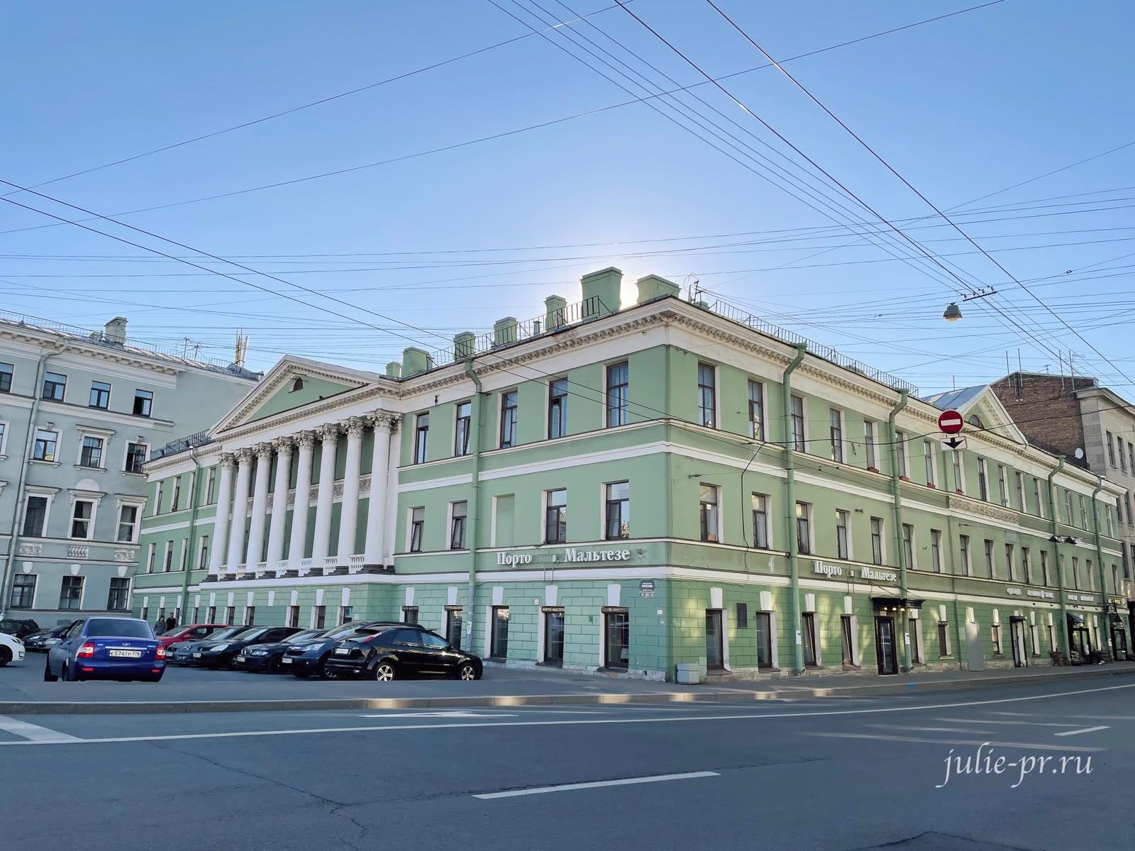 ротонда, Дом Евментьева, парадная Петербурга, парадные Питер