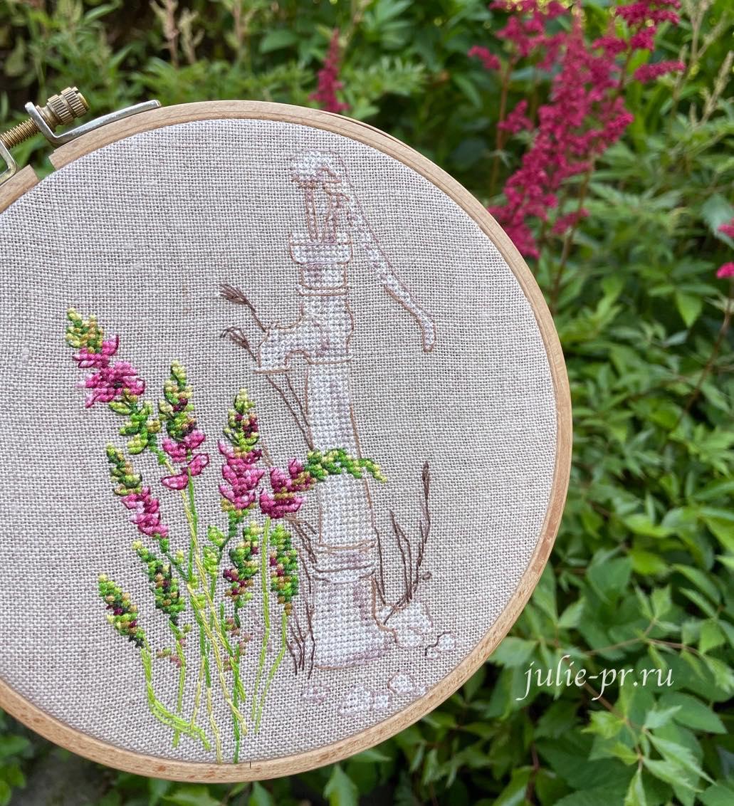 вышивка крестом, колонка, РТО, RTO М775, Цветущие травы, Bloomy herbs