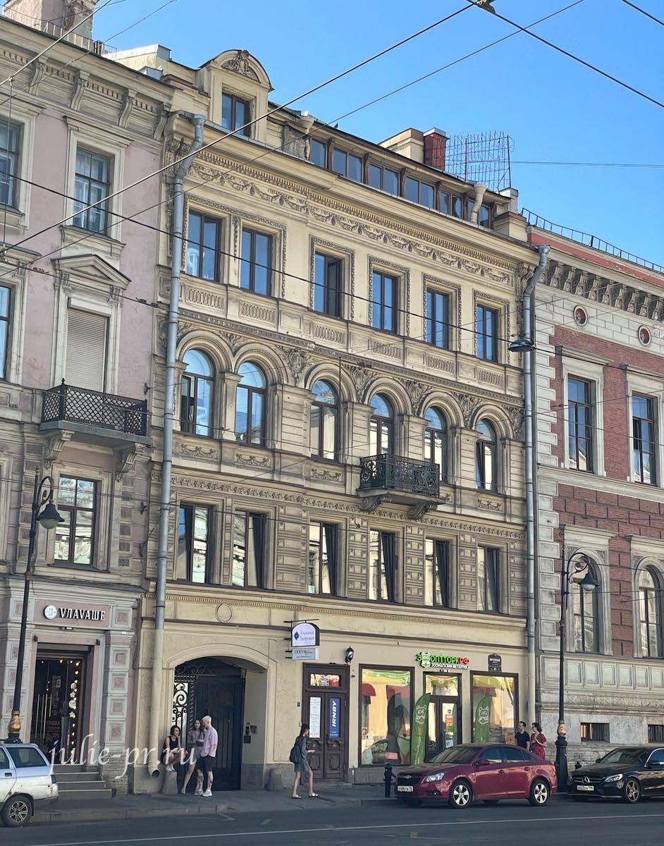 Парадная Петербурга, Кофейня Gotcha, открытые парадные Питер, доходный дом И.А. Алферова