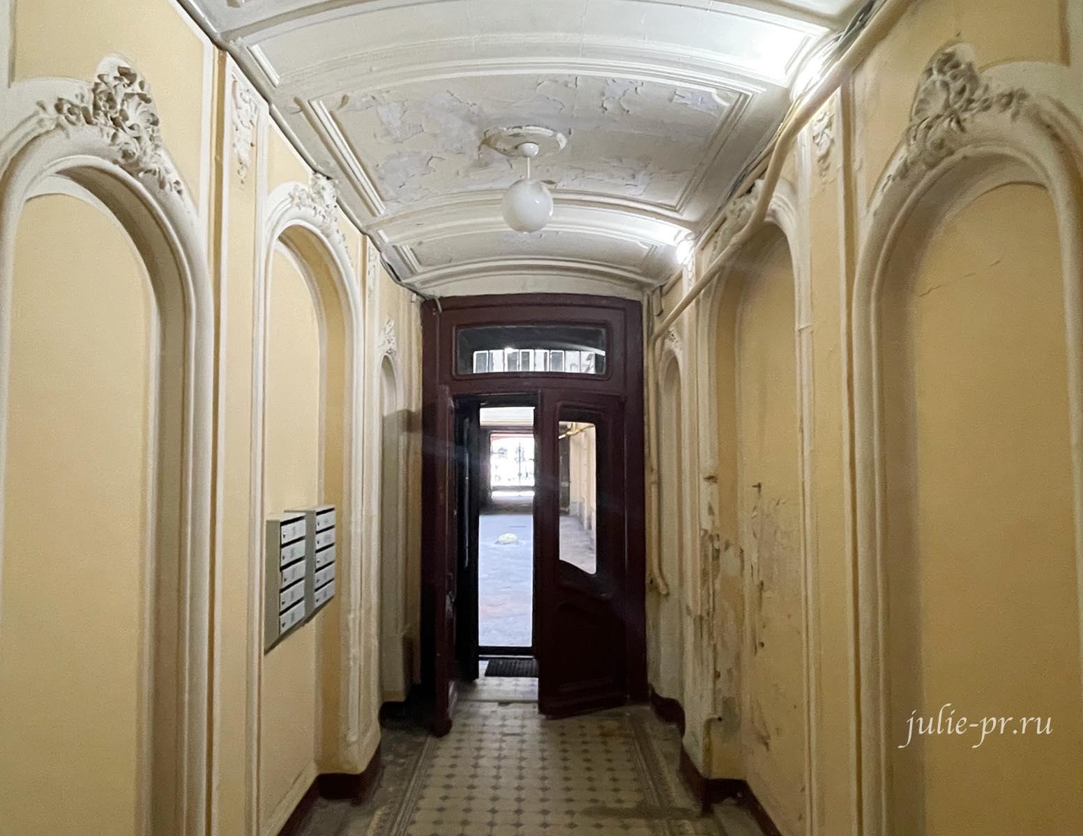 Парадная Петербурга, Доходный дом Бака, открытые парадные Питер, дворы