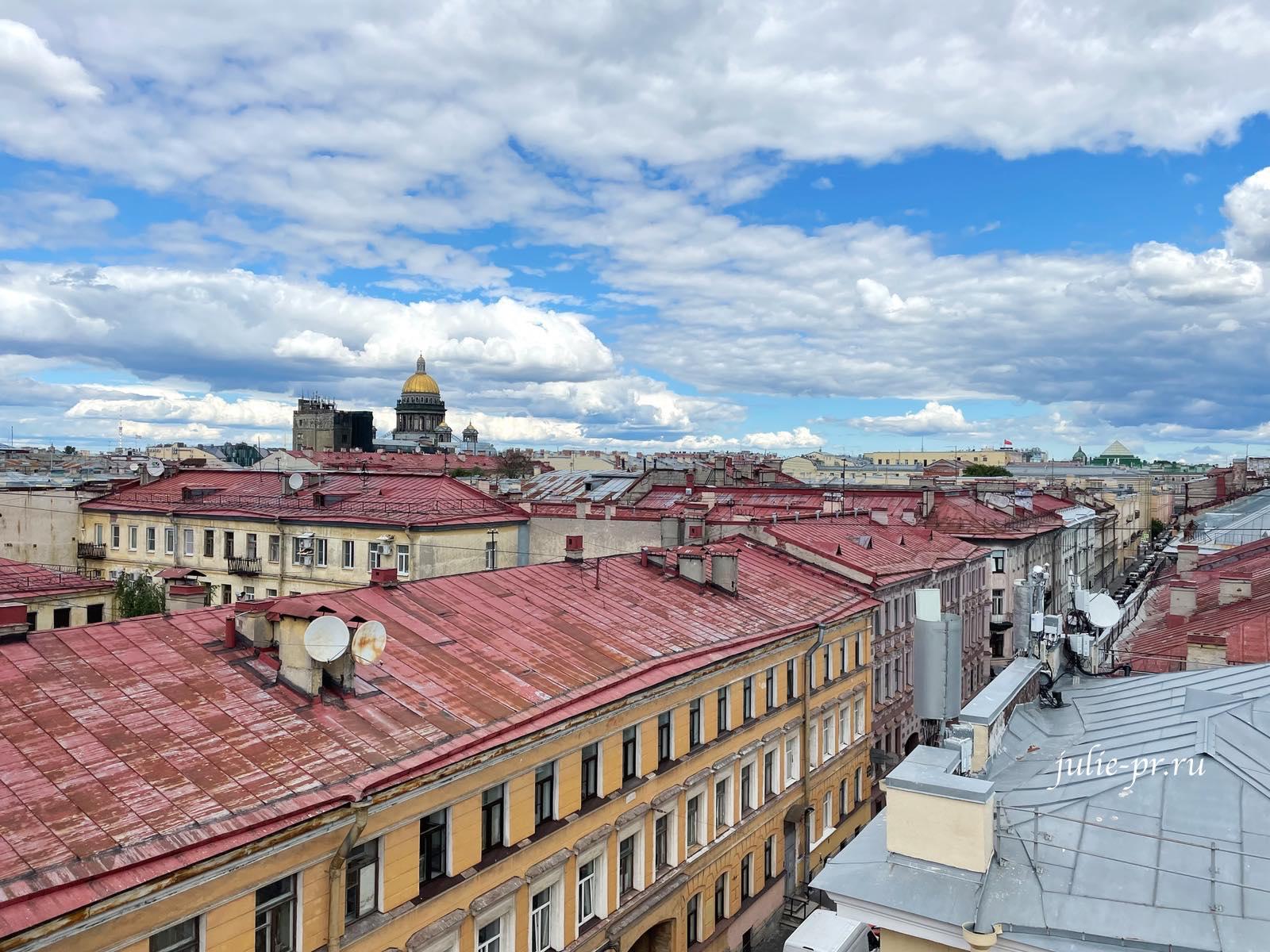 Крыши Питера, Санкт-Петербург