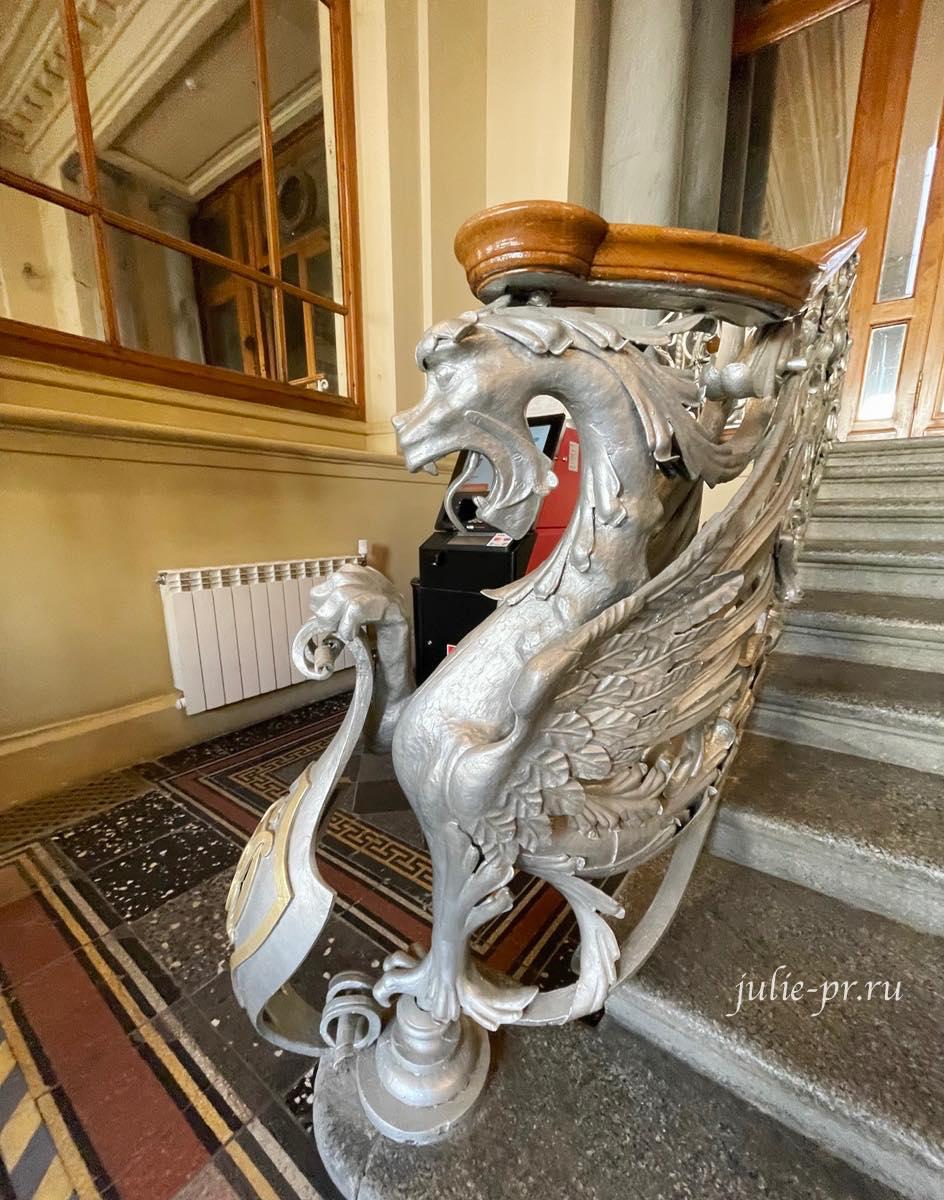 Открытая парадная, Санкт-Петербург, набережная канала Грибоедова 13, Здание Санкт-Петербургского общества взаимного кредита